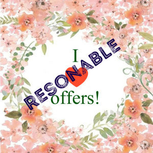 I accept resonable offers or make a counteroffer